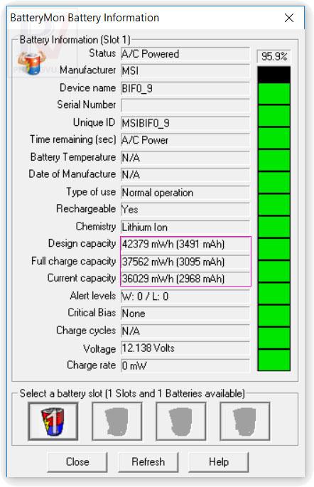 battery mon phần mềm test pin tốt nhất